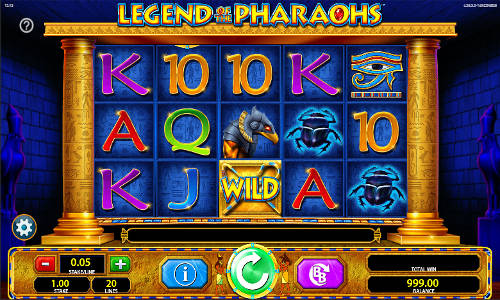Legend of the Pharaohs videoslot