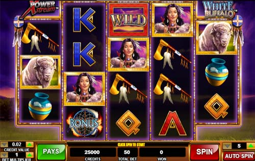 Legend of the White Buffalo casino slot