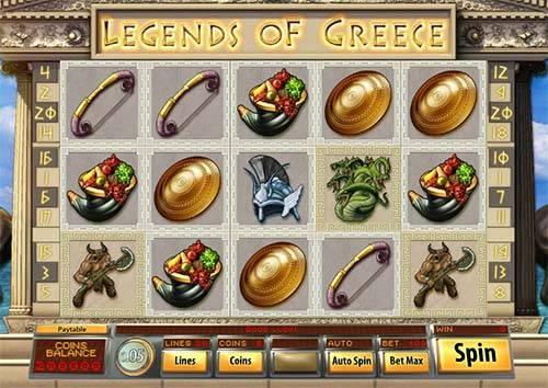 Legends of Greece slot