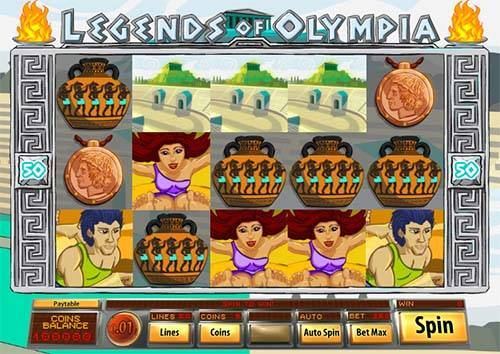 Legends of Olympia videoslot