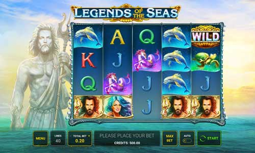 Legends of the Seas videoslot