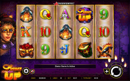 Light Em Up free slot