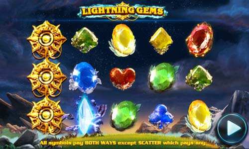 Lightning Gems free slot