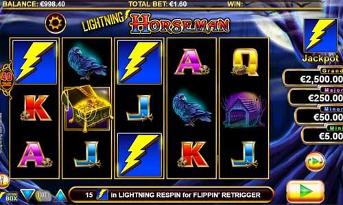 Lightning Horseman videoslot