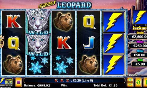 Lightning Leopard videoslot