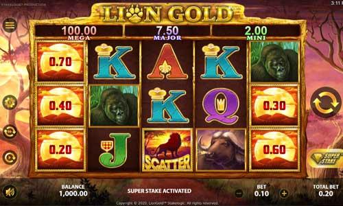Lion Gold slot