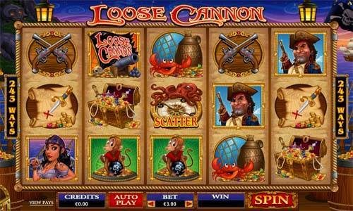 Loose Cannon slot