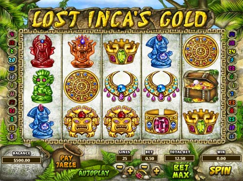 Lost Incas Gold videoslot