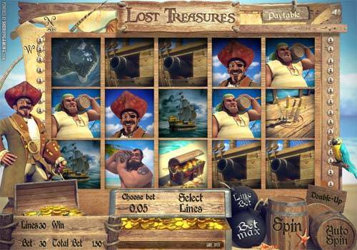 Lost Treasures slot