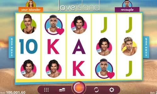 Love Island slot