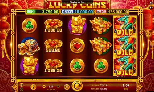 Lucky Coins videoslot