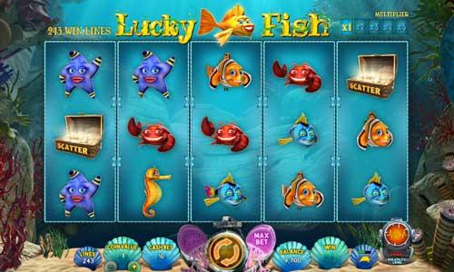 Lucky Fish videoslot