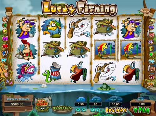 Lucky Fishing videoslot