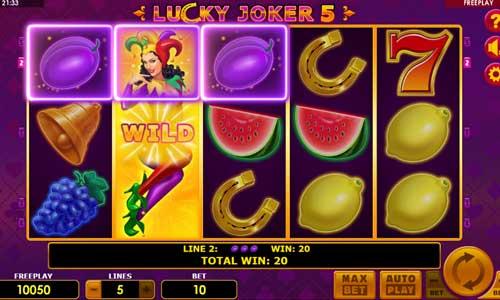 Lucky Joker 5 videoslot