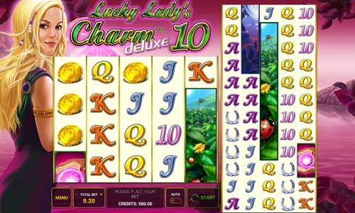 Lucky Ladys Charm Deluxe 10 videoslot