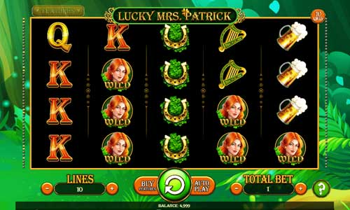 Lucky Mrs Patrick videoslot