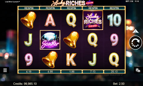 Lucky Riches Hyperspins videoslot