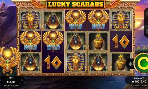 Lucky Scarabs videoslot