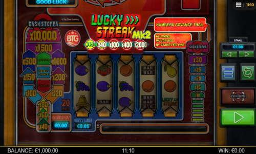 Lucky Streak Mk2 videoslot