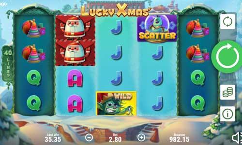 Lucky Xmas videoslot