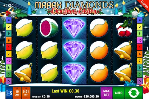 Maaax Diamonds Christmas Edition slot