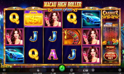 Macau High Roller videoslot