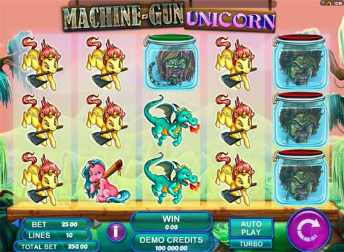 Machine Gun Unicorn videoslot