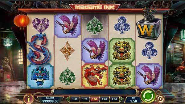 Madame Ink casino slot