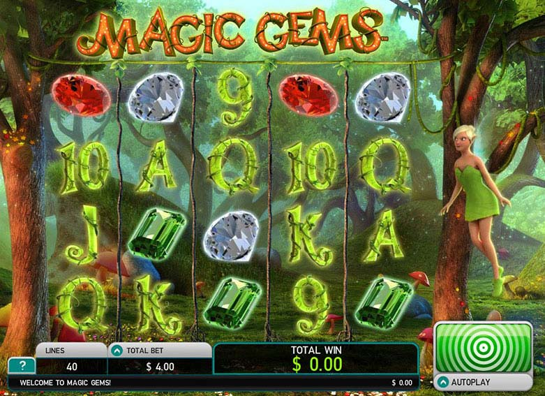 Magic Gems Deluxe videoslot