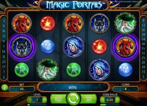 Magic Portals videoslot
