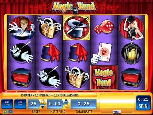 Magic Wand free slot