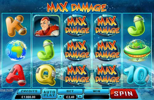 Max Damage videoslot