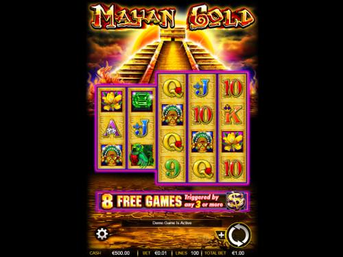 Mayan Gold videoslot