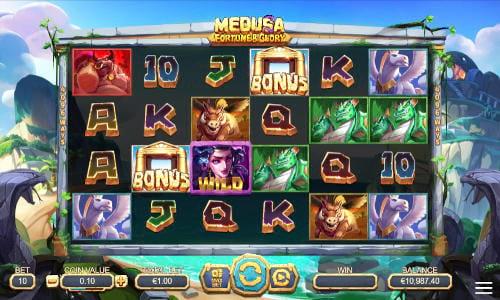 Medusa Fortune and Glory videoslot
