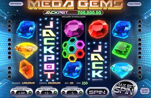 Mega Gems videoslot