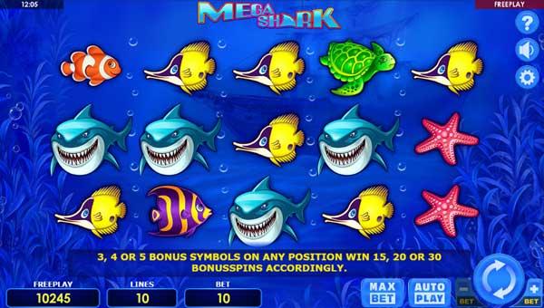 Mega Shark videoslot