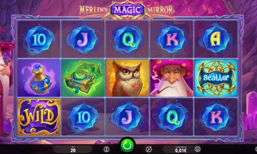 Merlins Magic Mirror videoslot