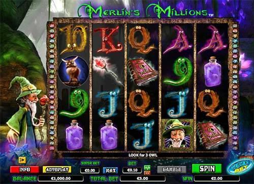 Merlins Millions videoslot