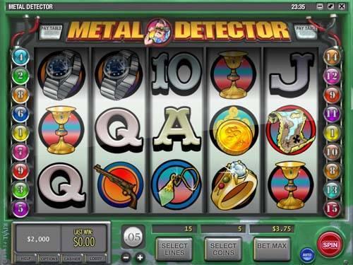 Metal Detector videoslot