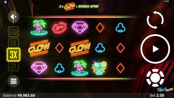 Miami Glow videoslot