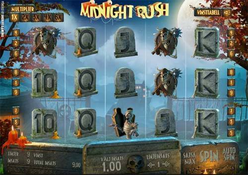 Midnight Rush videoslot