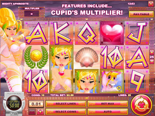 Mighty Aphrodite slot