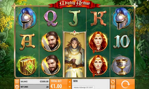 Mighty Arthur slot
