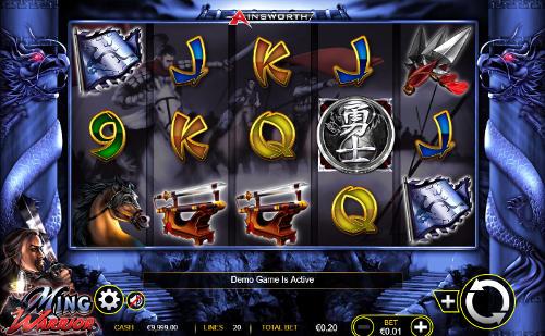 Ming Warrior slot
