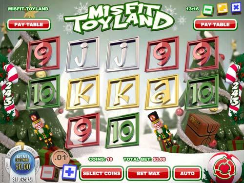Misfit Toyland videoslot