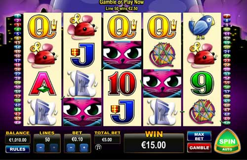 miss kitty slots game