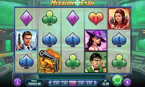 Mission Cash videoslot