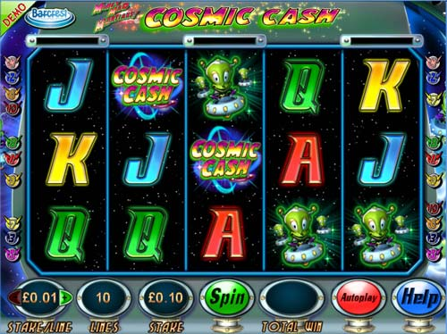 Money Mad Martians Cosmic Cash slot