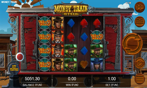 spela Money Train slot