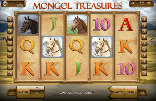 Mongol Treasures slot